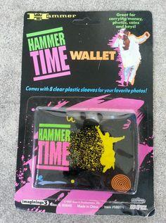 Vintage 1990s MC Hammer Hammer Time Wallet NOS Hip Hop | eBay