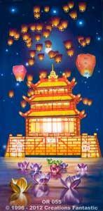 Backdrop OR055 Oriental Celebration Panel 1
