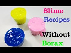 Diy slime baby powder without glue how to make slime with baby clear slime no glue how to make clear slime without glue youtube ccuart Image collections