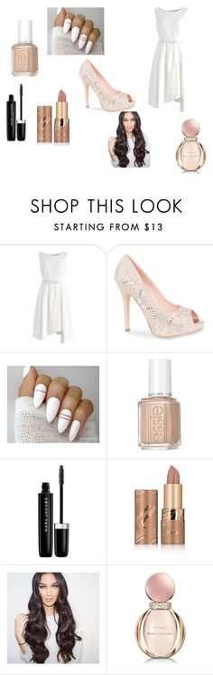 """""""Untitled #15"""" by bravery-is-might ❤ liked on Polyvore featuring Chicwish, Lauren Lorraine, Essie, Marc Jacobs, tarte and Bulgari"""