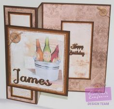 """Day 11 - Crafter's Companion Camden Town Male CD - Die'sire 1"""" Decorative Alphabet - Die'sire Essentials Only Words - #photoaday #crafterscompanion"""