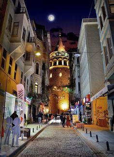 Galata Tower, Turkey, by Sadettin  Uysal
