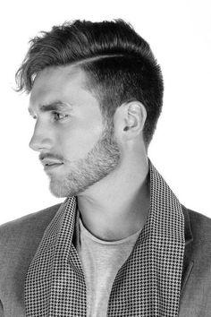 Image result for men hair part
