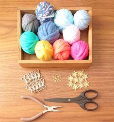 簡単すぎ!ズパゲッティのおしゃれタッセルの作り方 | WEBOO[ウィーブー] 暮らしをつくる。
