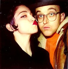 Madonna x Keith Haring