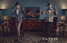 lanvin fall winter ad campaign.