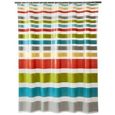 Room Essentials® Multi Strip Shower Curtain.Opens in a new window