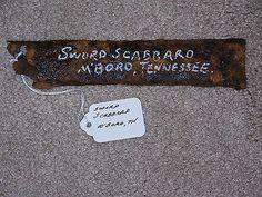 7 best tennessee cemeteries images on pinterest civil wars civil war dug sword scabbard murfreesboro tennessee battle of stones river malvernweather Choice Image