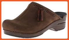 Dansko Women's Shannon Mule,Brown Milled Nubuck,36 EU/5.5-6 M US - Work and saftey shoes for women (*Amazon Partner-Link)