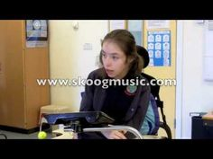 Interview with Stephanie - a Skoog musician with cerebral palsy (+playlist)