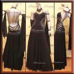 Ballroom Dance Smooth Standard Competition Dress Size s M L ST96B | eBay