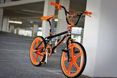 Everthing in Orange in Green. Skyway Bmx, Diamondback Bmx, Mongoose Bike, 24 Bmx, Bmx Mountain Bike, Gt Bikes, Vintage Bmx Bikes, Bmx Frames, Bmx Cruiser