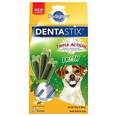 Pedigree Dentastix Fresh Small/Medium Treats For Dogs, 5 Ounces ~ You can continue to the product at the image link. (This is an affiliate link and I receive a commission for the sales)