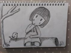 Gorjus Haciendo minimalismos con las Gorjus, (Hoy me siento flojuelo) 😯😯😁, con lápices de  grafito.