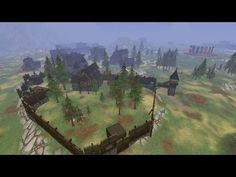 Crowfall game, housing & building from recent alpha tests - a minute of walking through various player-made creations. For more about this MMO, check their official site - https://crowfall.com/ #gaming #game #MMORPG #house #building #housing #crowfall #MMO