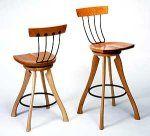 Pitchfork Swivel Chair