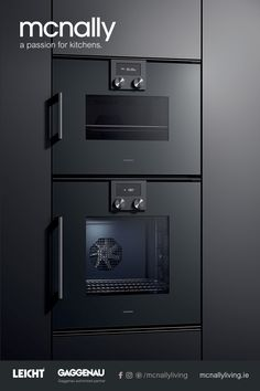 The Difference is Gaggenau from McNally Living Kitchens. Gaggenau appliances have been created by hand for over 330 years and feature many exclusive features that are perfectly at home in the modern kitchen. Built In Kitchen Appliances, Kitchen Appliance Storage, Kitchen Organization Pantry, Kitchen Cooker, Toy Kitchen, Home Decor Kitchen, Kitchen Ideas, Oven Design, Küchen Design