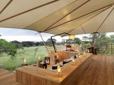 Book Serengeti Bushtops, a luxury hotel in Serengeti. Kuoni is the most awarded luxury travel operator in the UK. Camping Glamping, Luxury Camping, Bungalows, Resorts In Philippines, Porches, Tent Platform, Game Lodge, Luxury Tents, Farm Stay