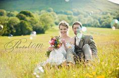 A DIY Garden Wedding with a Homemade Wedding Dress ~ UK Wedding Blog ~ Whimsical Wonderland Weddings
