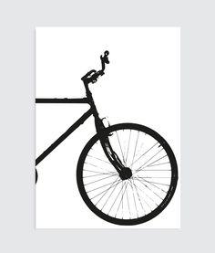 fietsposter tweeluik