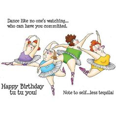 Art Impressions Girlfriends Cling Rubber Stamp Dancers Set 3580 for sale online Happy Birthday Quotes, Happy Birthday Greetings, Birthday Messages, Happy Birthday Girlfriend, Funny Birthday Wishes, Sister Birthday Funny, Birthday Humorous, Birthday Sayings, Art Impressions Stamps