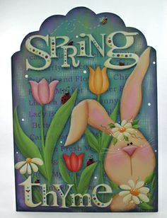 1000+ images about Spring and Easter tole painting patterns and ...