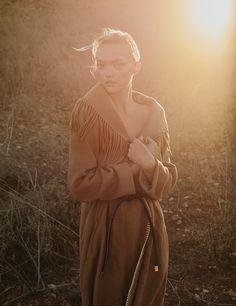 #GemmaWard by #StephenWard for #Russh September 2015