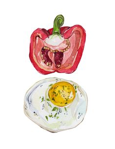 Food Illustrations - Laura Manfre