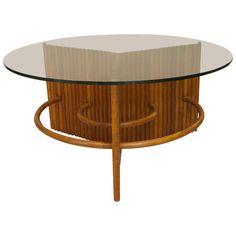 1930's American Art Moderne Coffee Table Attributed to Paul Frankel 1