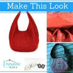 Emmaline Bags Bag Patterns Sewing Make Your Own Hobo Tote Totes Wallets Designer Handbags