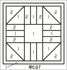 Free Friendship Quilt Counted Cross Stitch Patterns - Free Printable Charts: Free Hourglass Block Pattern Key - Use for Determining Colors Barn Quilt Designs, Barn Quilt Patterns, Pattern Blocks, Quilting Patterns, Quilting Ideas, Sewing Patterns, Patch Quilt, Quilt Blocks, Stained Glass Quilt