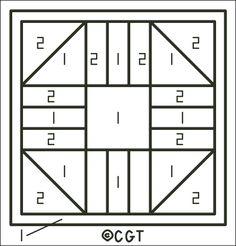 Free 10 Quilt Block Patterns | Free Friendship Quilt Block Punchneedle Pattern Key - Free Printable ...