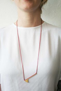 Red Factors Necklace 1