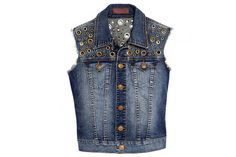 Beef up Your Back-to-School Wardrobe with These 100 Denim Pieces: True Religion Shelby vest