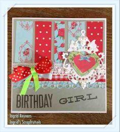 Ingrid's scrapfrutsels: Vrolijke kaartjes