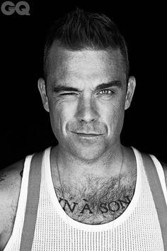 Caffeine Nicotine Robbie Williams photographed by John Wright . Oliver Twist, Dean Martin, Robbie Williams Take That, Charming Man, Music Tv, Mod Music, Man Crush, My Idol, Black White