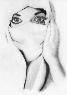 Pencil Sketches Of Women | PENCIL DRAWING: LEARN DRAWING: Female ...