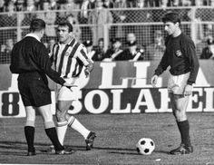 Juventus vs Fiorentina, 1965. Del Sol and Mario Bertini