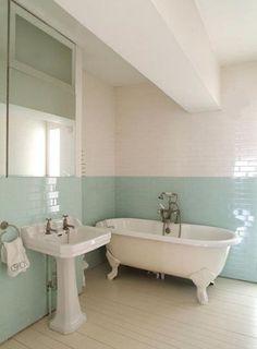 modern victorian apartment interior modern victorianapartment interiorsubway tileswalkwaysbathroom