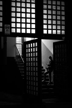 Night call. Cluj-Napoca, Romania, 2016. Original, limited edition, signed, fine art print on Hahnemühle high quality paper. #streetphotography #blackandwhite #street #photography #fineart #print #urban #monochrome #night #graphic #cluj