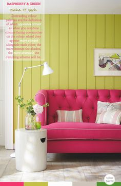 How To Wow With A Contrasting Colour Palette