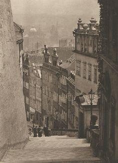 Jiří Jeníček, Prague Castle Stairs, late 40's.
