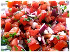 Pico de Gallo Salsa Recipe from Weight Watchers. Ww Recipes, Mexican Food Recipes, Cooking Recipes, Healthy Recipes, Ethnic Recipes, Healthy Foods, Vegetarian Recipes, No Calorie Foods, Low Calorie Recipes