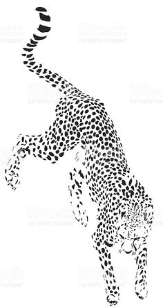 Junping Cheetah Illustration In Black Lines Woodburning – Junping Cheetah Illustration In Black Lines See More What Others Are Saying This Was Another… – Best Friends Forever Bff Tattoos, Future Tattoos, Small Tattoos, Tatoos, Cheetah Drawing, Cheetah Tattoo, Gatos Vector, Jaguar Tattoo, Tiger Art