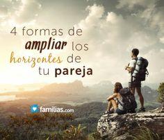 Para ampliar los horizontes de tu pareja, debes permitir que tenga la libertad de tomar decisiones, perdonar sus errores, ofrecer aliento sincero y ex...