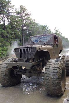 Mud truck.