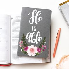 """He is Able"" Prayer Journal"