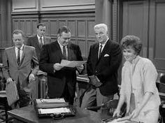Perry Mason American drama series September 21,1957 to May 22,1966   Defense attorney Perry Mason defends dozens of falsely accused people over the course of this long-running courtroom drama, and he manages to clear each and every one of them, usually by drawing out the real criminal on the witness stand. He is capably assisted by investigator Paul Drake and secretary Della Street, and is a continual thorn in the side of District Attorney Hamilton Burger.