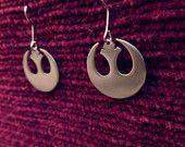 Star Wars Jedi Rebell Alliance Symbol Pendant Earrings Geek Star Wars