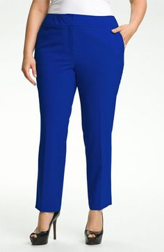 Vince Camuto Ankle Pants (Plus) available at #Nordstrom